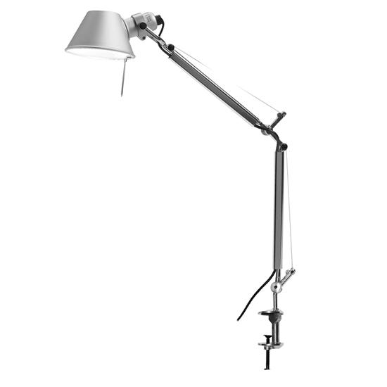 Tolomeo Large Arm & Clamp Silver 100W