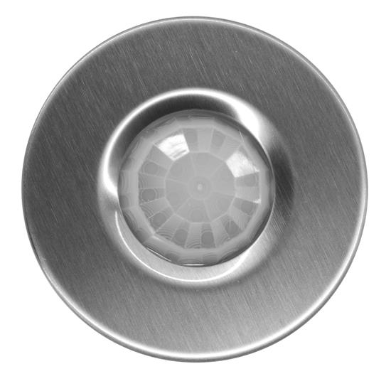 Ceiling PIR Switch Stainless Steel 16A