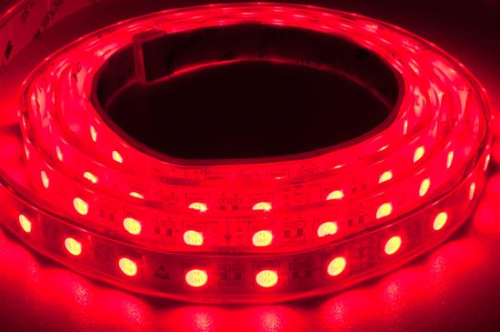 LED Tape Ultra Waterproof IP68 RGB 5m (60xSMD 5050 LEDs/m) 24V 72W (1m=14.4W) 5000mm