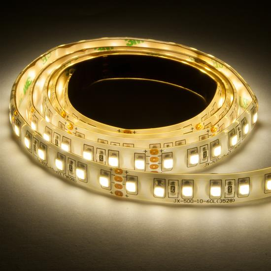 LED Tape Seamless 10m (120xSMD 3528 LEDs/m) 24V 80W (1m=8W) 3400K Warm White