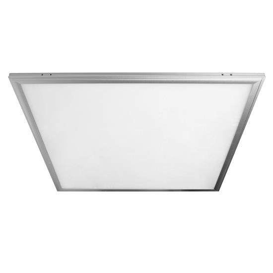 LED Surfaced Panel Light Box Silver Kit 24V 600 x 600mm 4000K Cool White 60W