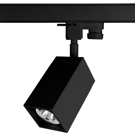 Black Track Lighting Uk: Cube Track GU10 Spotlight 35W Black