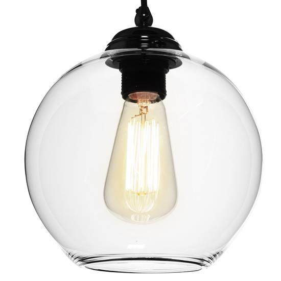 Modica Glass Pendant Shade 60W Clear
