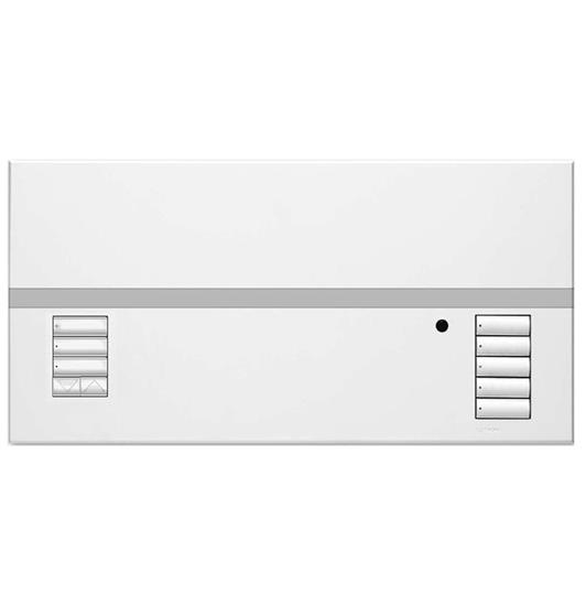 Lutron Grafik Eye QS  White 4 Circuits, 1 Blind