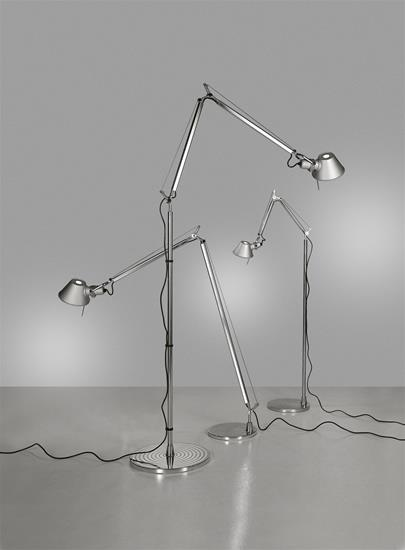 Tolomeo Terra Mini Floor Lamp 100W Silver