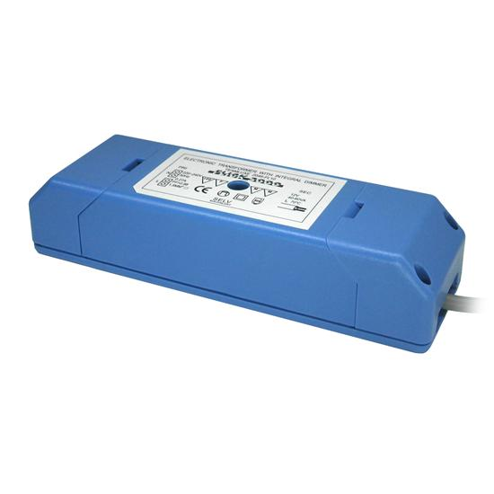 Electronic Transformer With Integral Dimmer Blue 50W