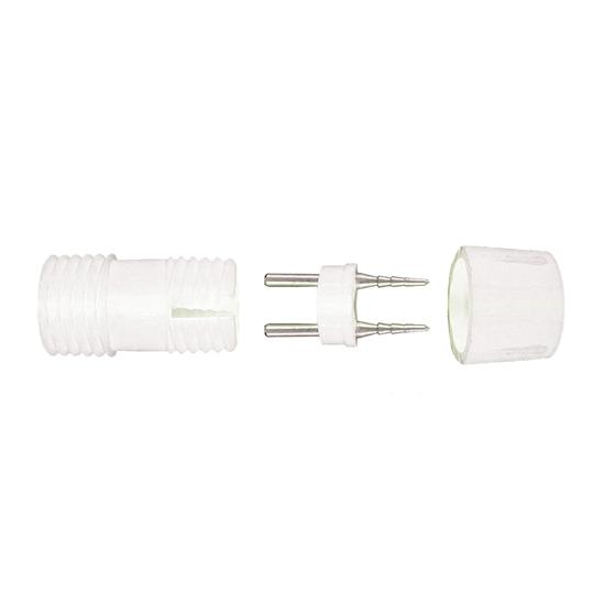 led ropelight power connector 240v white