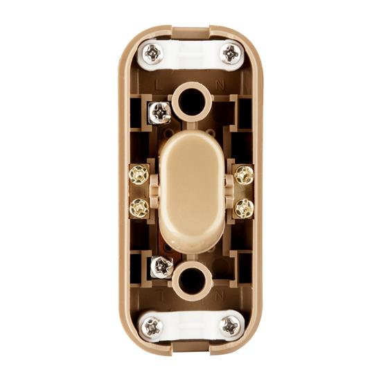 2 & 3 Core In-Line Switch 2A Gold