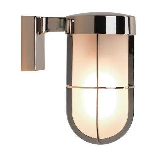 Cabin frosted exterior wall light 60w polished nickel mr resistor cabin frosted exterior wall light 60w polished nickel aloadofball Gallery