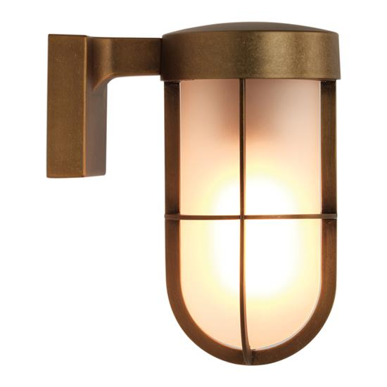 Cabin frosted exterior wall light 60w antique brass mr resistor cabin frosted exterior wall light 60w antique brass aloadofball Gallery