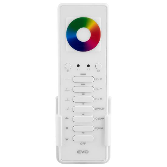 Wise Evo Colour Wheel Remote 7 Channel White
