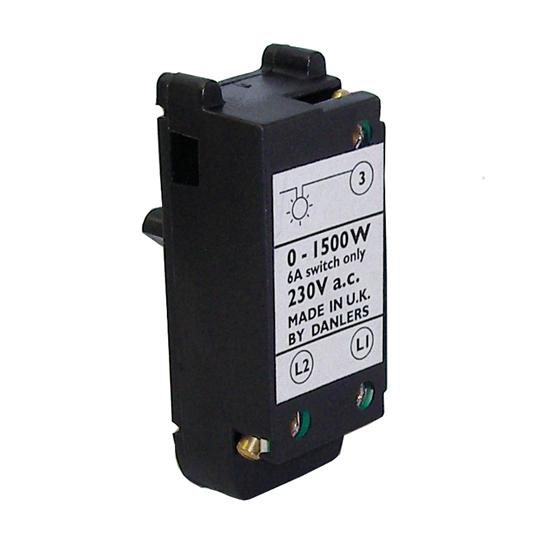 Inductive/Resistive Load 1-2 Way Switching Module Black 1500W