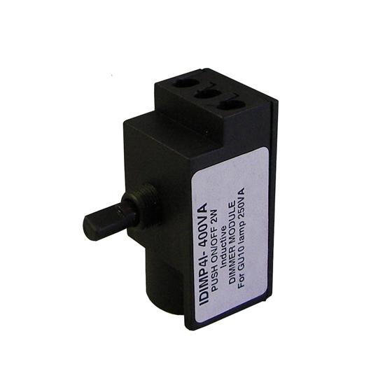 Inductive Load 2 Way Dimmer Module Black