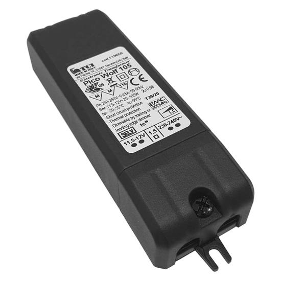 Pico Wolf 105 Electronic Dimmable Transformer 12V 105W