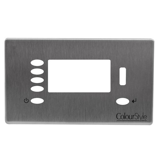 ColourStyle Plate Brushed Stainless Steel