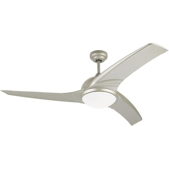 Wave Form Ceiling Fan + Remote Control Titanium 1320mm 100W