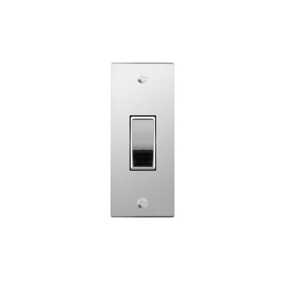 Architrave switch 1 gang rocker polished stainless steel mr architrave switch 1 gang rocker polished stainless steel publicscrutiny Images