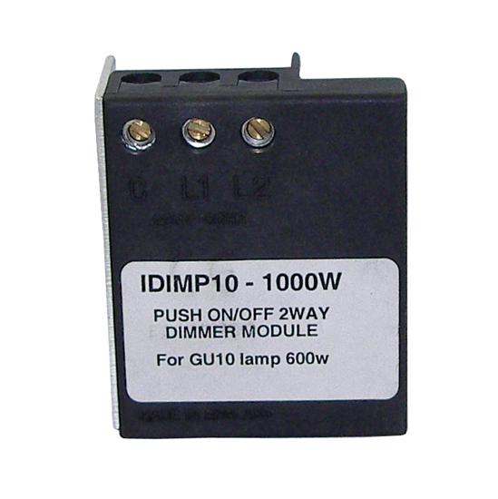 Resistive Load 2 Way Dimmer Module Black 1000W