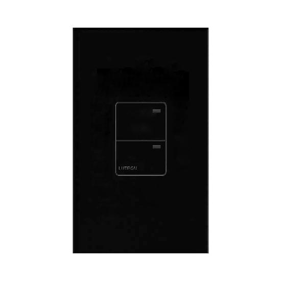 Lutron North American Wall Switches Black