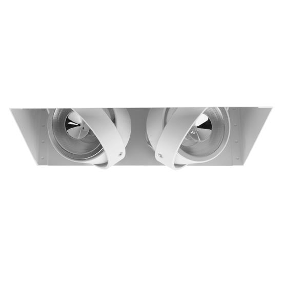 Grid Trimless Double AR70 12V 2 x 50W White