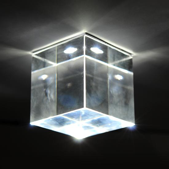 Crystal Ice Cube 3W 4000K Cool White