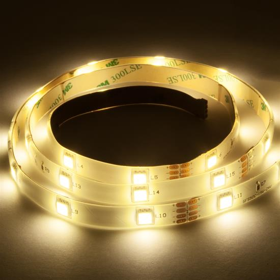 LED Tape 24V 1 metre 8W 3400K Warm White