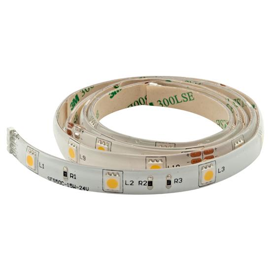 LED Tape 100 1m (30xSMD 5050 LEDs/m) 24V 8W 3400K Warm White
