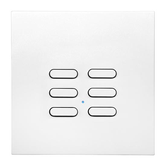 Wise Switch 6 Channel White 3V