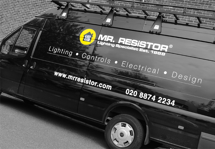 Mr Resistor Delivery Van